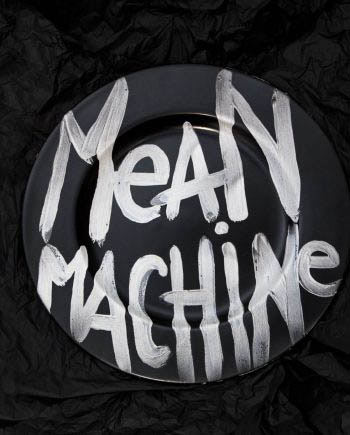 Mean Machine Plate // House of Fiv5