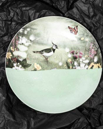 Birds of a Feather Plate // House of Fiv5