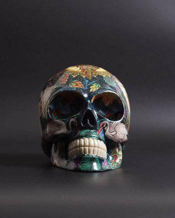 saraswati skull