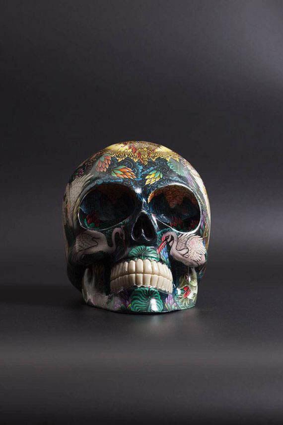 skull_handpainted_saraswati_01