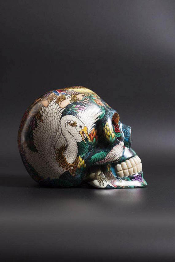 skull_handpainted_saraswati_02