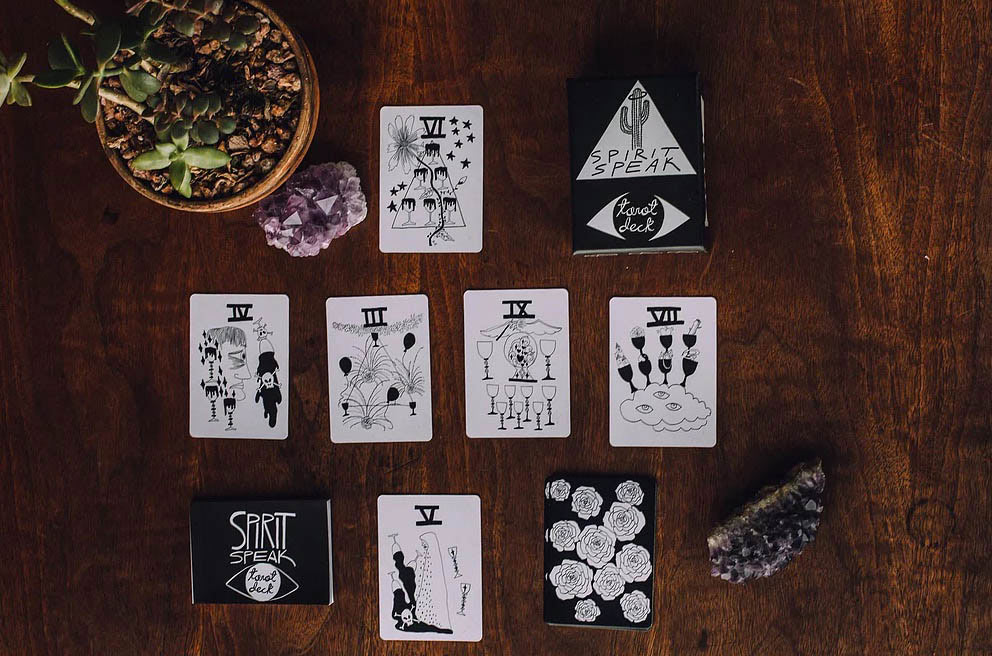 Spirit Speak Tarot Deck by Mary Evans