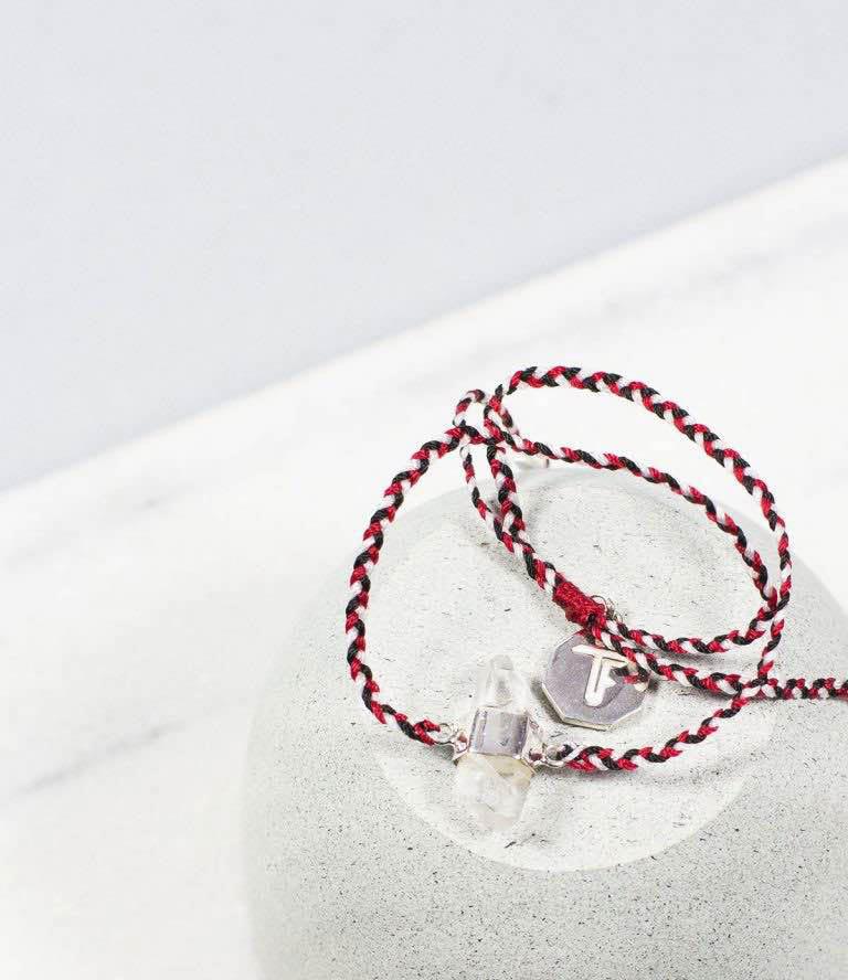 tridatu bracelet quartz