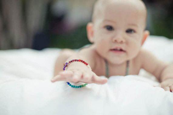 7 Chakra Bracelet Toddler