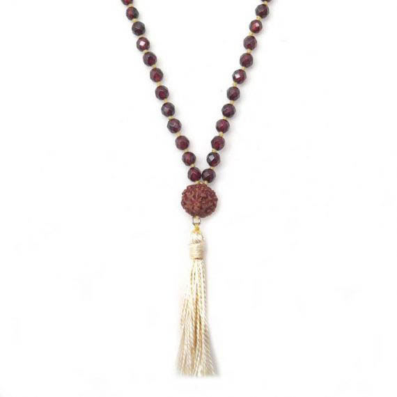7 Chakra Mala Short Necklace