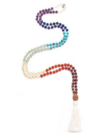 7 Chakra Mala Toddler Necklace