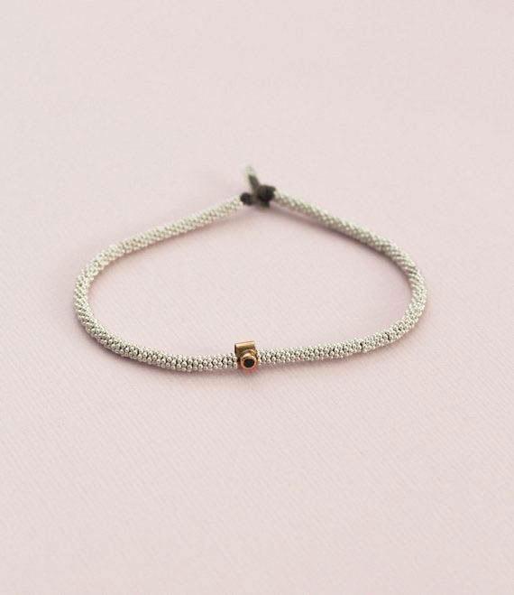 India Bracelet Sapphire Silver