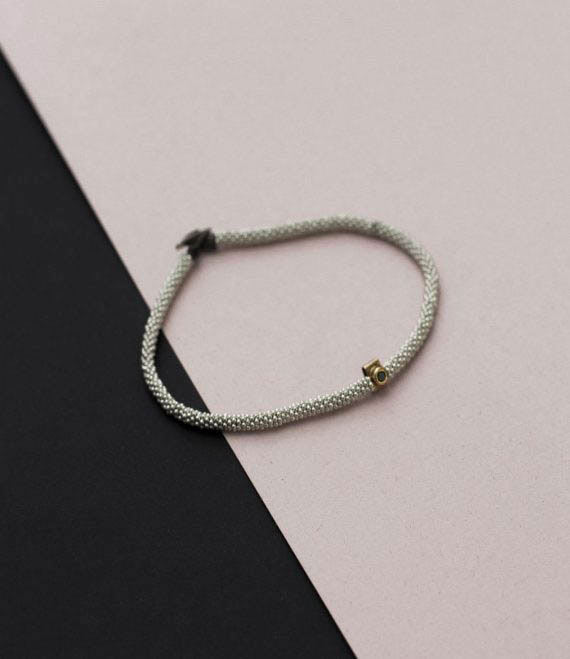 India Bracelet Sapphire Silver1