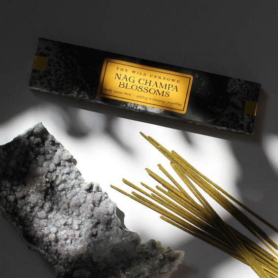 nag champa blossoms incense
