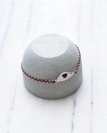 Tridatu Eye Bracelet Silver