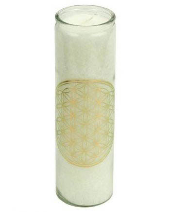 flower of life scented candle