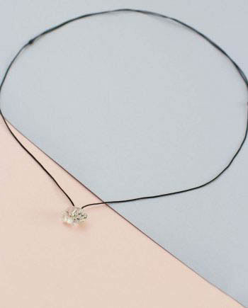 Herkimer Diamond String Necklace