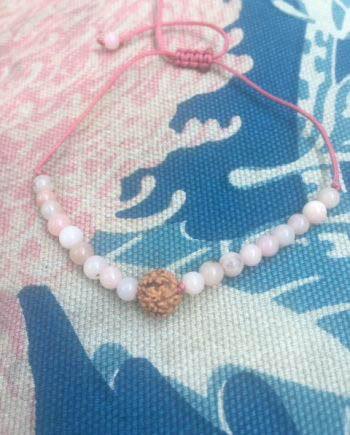 pink opal love bracelet