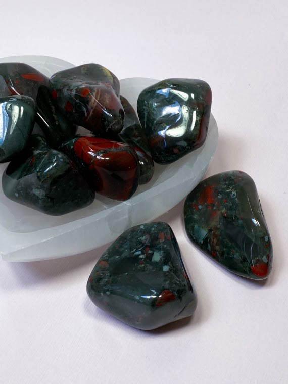 bloodstone meditation stone