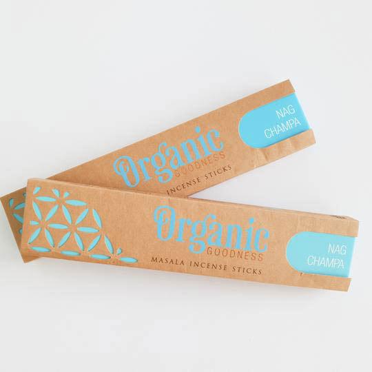 Organic Goodness Nag Champa