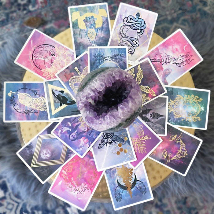 The Threads of Fate Oracle Cards
