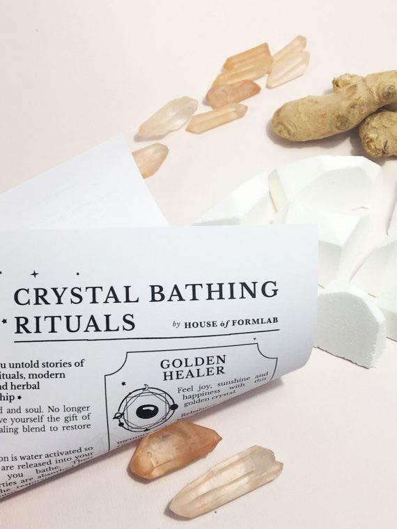 House of Formlab Crystal Magick Shower Steamer Healer 01
