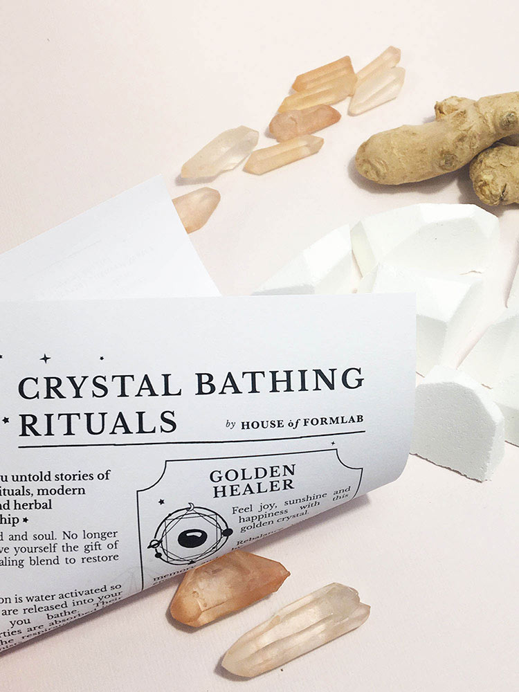 Crystal Shower Steamers // Healing