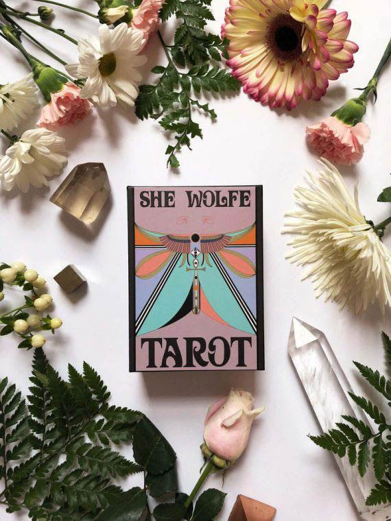 She Wolfe Tarot 09