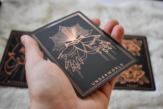 threads of fate oracle deck rose gold 03