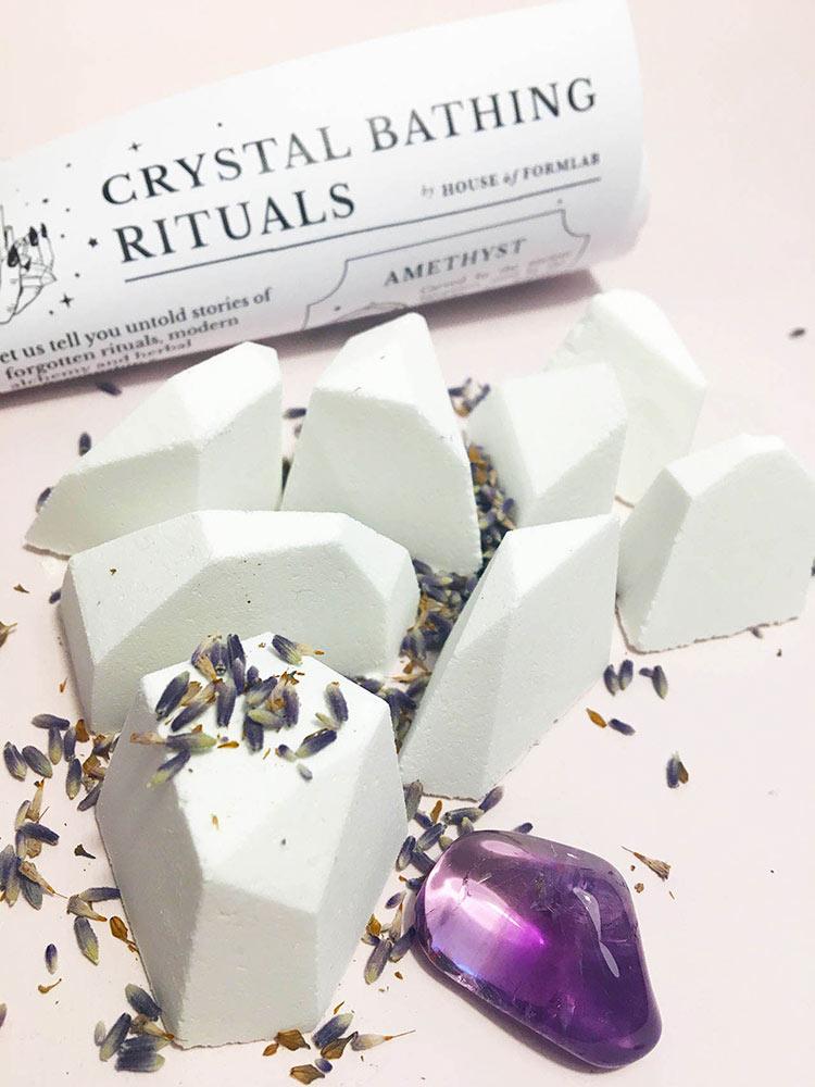 Crystal Shower Steamers // Slumber