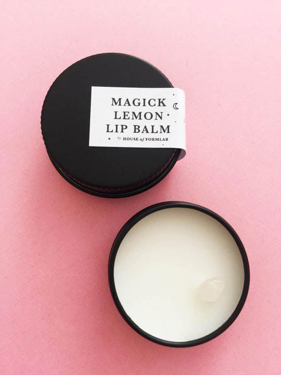 House of Formlab Lemon Magick Lip Balm 01