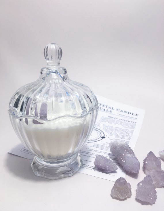 nymphs pool magick candle 02