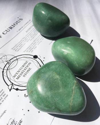 Green Aventurine Crystal Meditation Stones