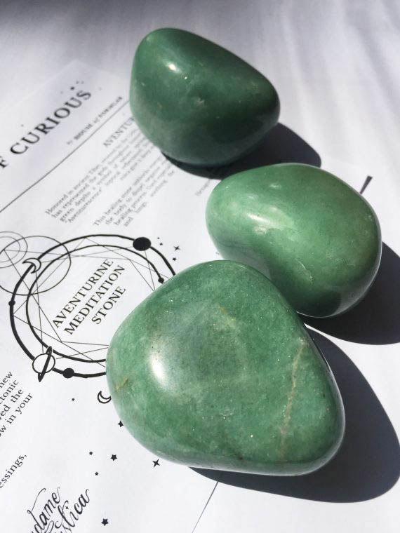House of Formlab Aventurine Meditation Stones 01