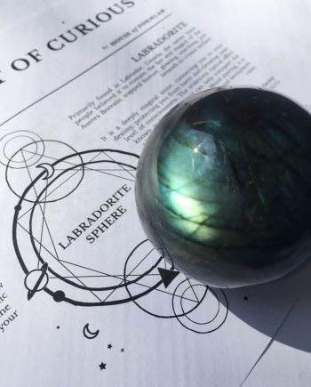 Labradorite Crystal Spheres