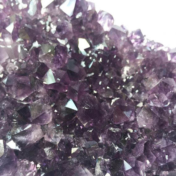 House of Formlab Royal Purple Amethyst Cluster with Calcite XL 08