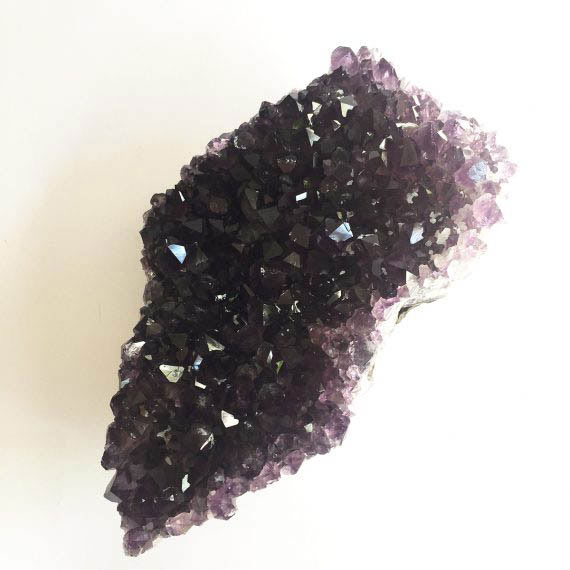 House of Formlab Royal Purple Amethyst Cluster with Calcite XL 10