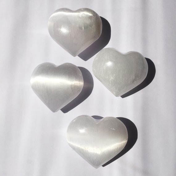 House of Formlab Selenite Crystal Heart 05