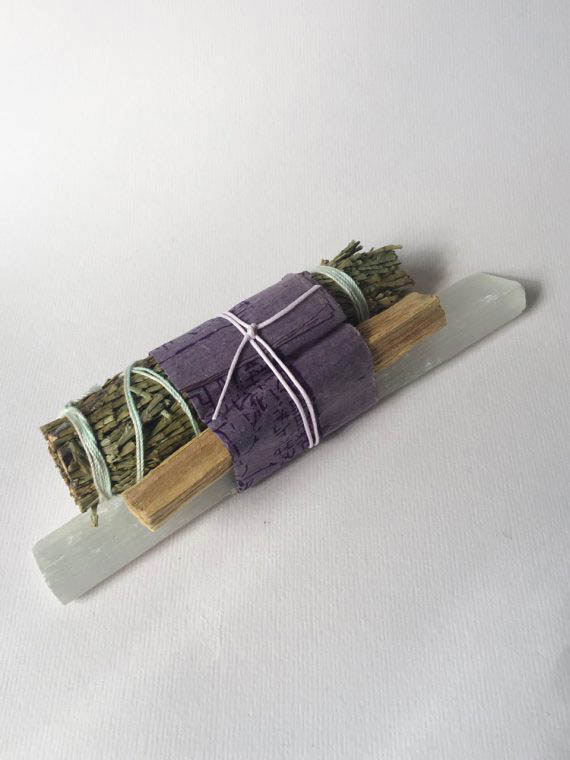 Crystal Smudge Bundle