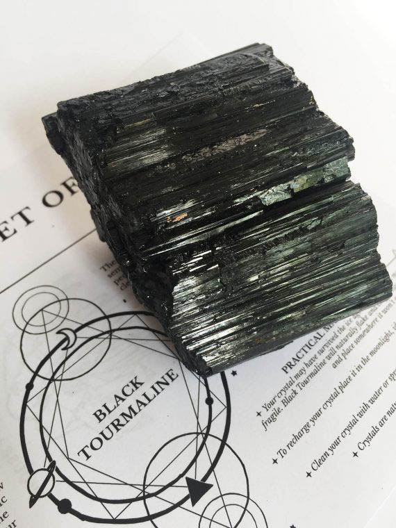 House of Formlab Black Tourmaline Protection Stones 01