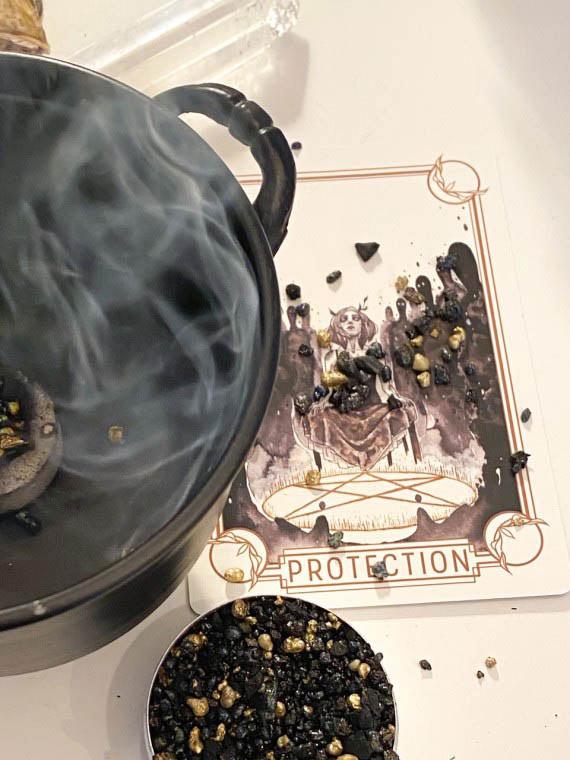 ritual protection incense
