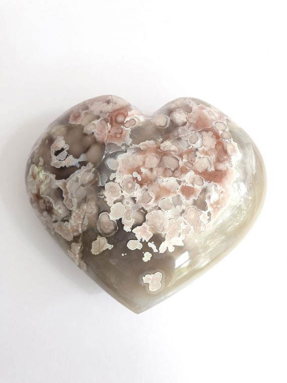 House of Formlab Flower Agate Heart 01