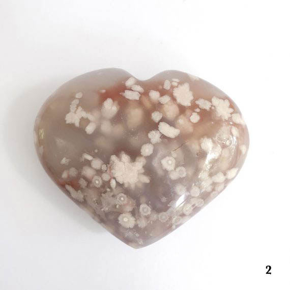 House of Formlab Flower Agate Heart 05