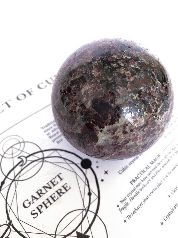 House of Formlab Garnet Sphere 01