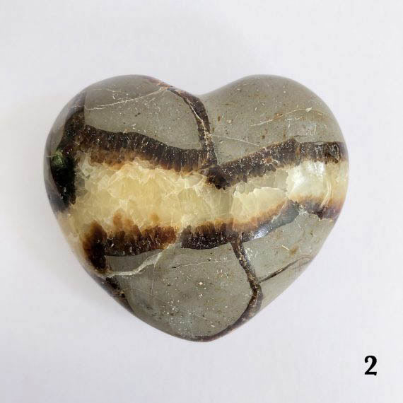 House of Formlab Septarian Dragon Stone Heart 04