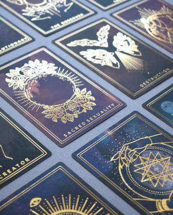 the threads of fate oracle cards the shadow edition