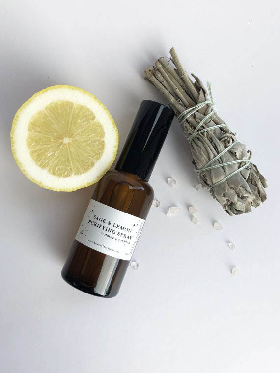 House of Formlab Sage and Lemon Purifying Smudge Spray 01