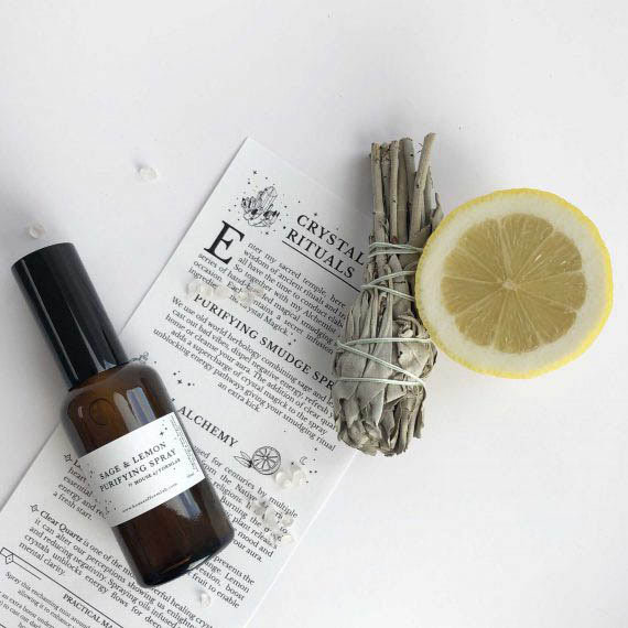 House of Formlab Sage and Lemon Purifying Smudge Spray 03