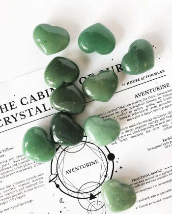 House of Formlab Aventurine Hearts