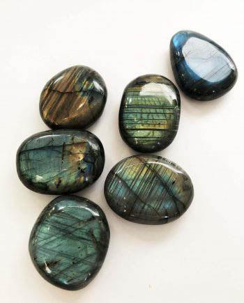 House of Formlab Mystic Labradorite Meditation Stones