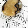 House of Formlab Septarian Meditation Stones