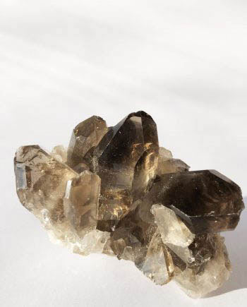 House of Formlab Smoky Quartz Clusters