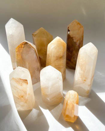 golden healer quartz tower