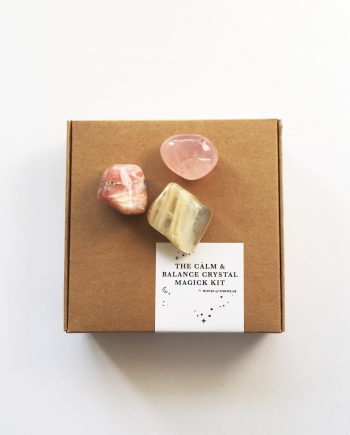 The Calm & Balance Crystal Magick Kit by House of Formlab