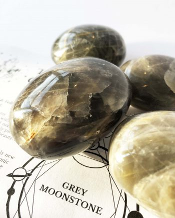 House of Formlab Grey Moonstone Meditation Stones